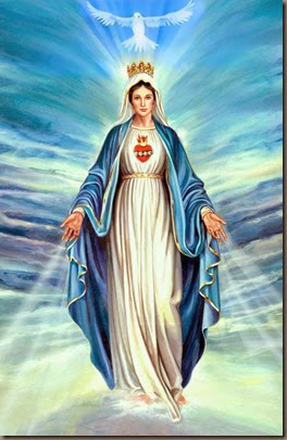nossa senhora e o espirito santo- Our Lady and the holy spirit