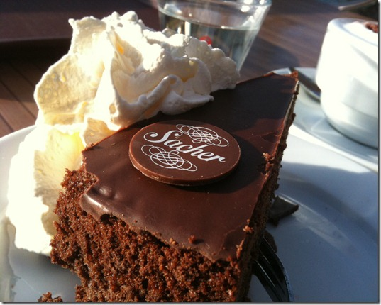 Sachertorte am Lietzensee