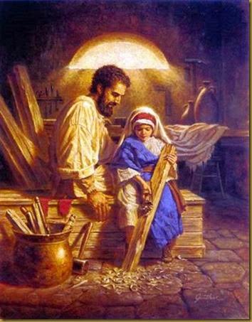 SAN JOSE Y JESUS NIÑO