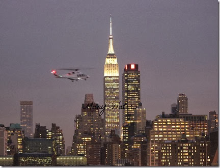 Many Waters NYC Helicopter