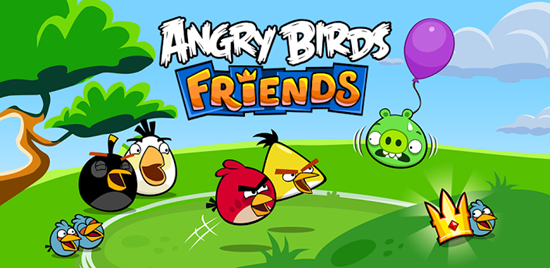 Play Angry Birds with your friends... wherever you go!