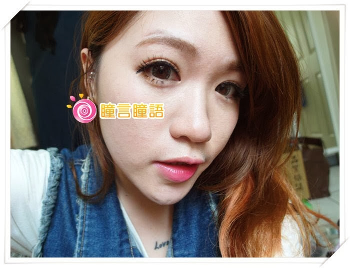 日本ROYAL VISION隱形眼鏡-混血四色灰SAM_1379-1