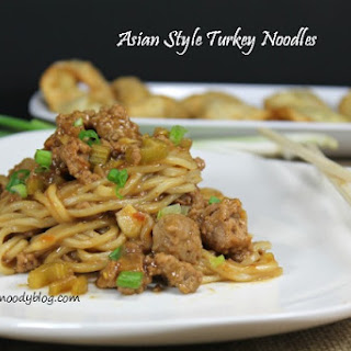 Asian Style Turkey Noodles