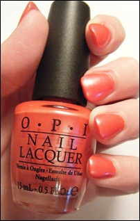 OPI Come to Poppy Swatch