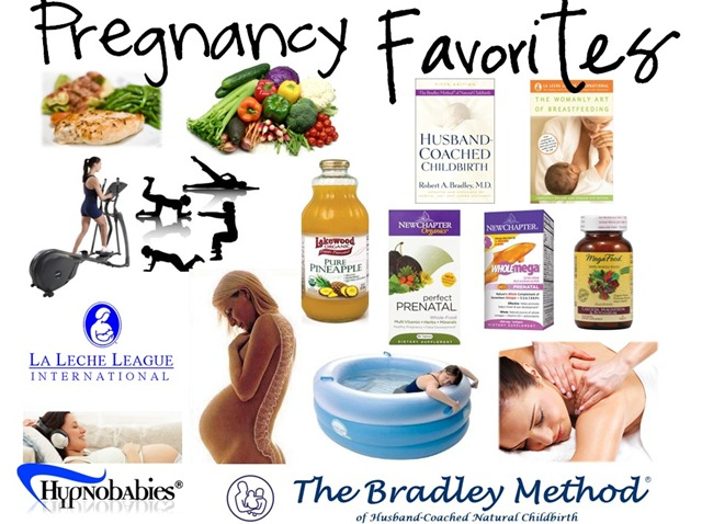 Pregnancy and birth Favorite things and preparing for natural childbirth