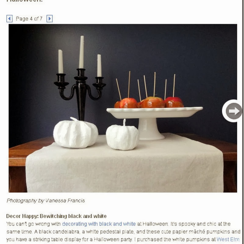 Style at Home: Halloween Tricks and Treats