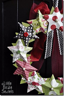3D_paper_star_wreath_tutorial_how_to