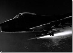 Gojira F-86 Sabre Fires Rockets