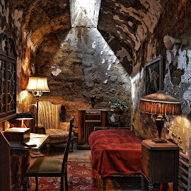 Al Capone's Cell by Dave Meng - Buildings & Architecture Other Interior