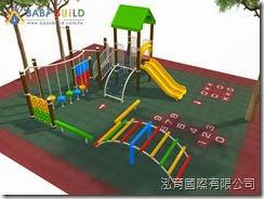兒童遊具示意圖