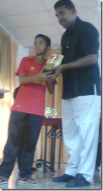 Mohd Khairul Izwan Haikal Kamaruddin, U-15 Champion