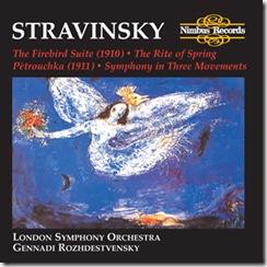 Stravinsky Consagracion Rozhdestvensky