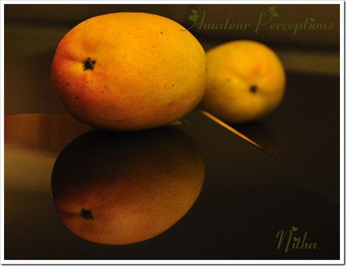 Mango and cheese pudding 2