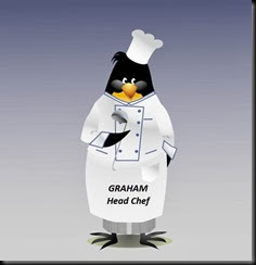Graham Head Chef Penguin