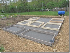 positioning beds in plot