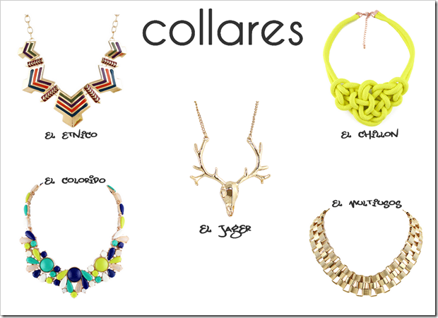 Shopping favoritos Sheinside tendencia 03 collares
