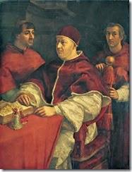 Retrato del papa León X