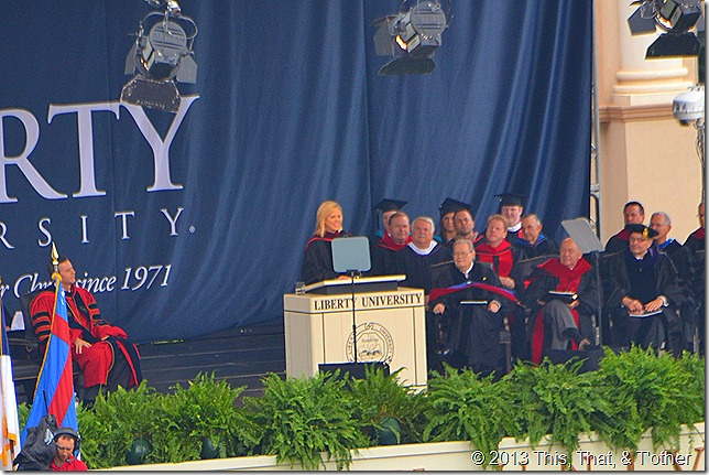 Shannon Bream LU commencement