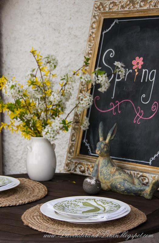 Spring in Lavender & Linen's garden-001