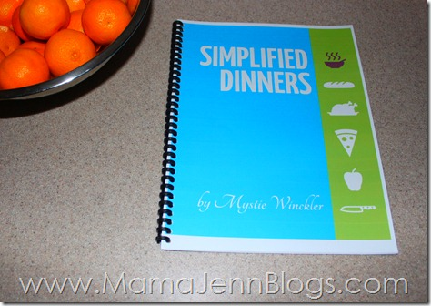 Simplified Dinners eBook: Simplified Meal Planning