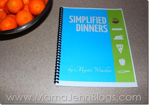 Simplified Dinners eBook: Simplified Meal Planning
