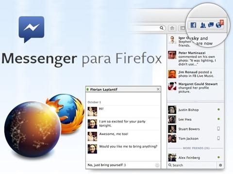 chat de facebook para firefox