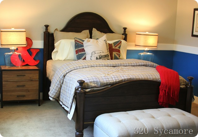 boys room red blue