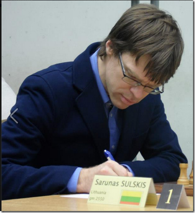 GM Sarunas Sulskis, Lithuania (picture by Lara Barnes)