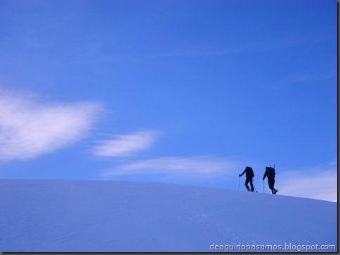 Pico de Canal Roya 2345m con esquis (Portalet, Pirineos) (Isra) 7309