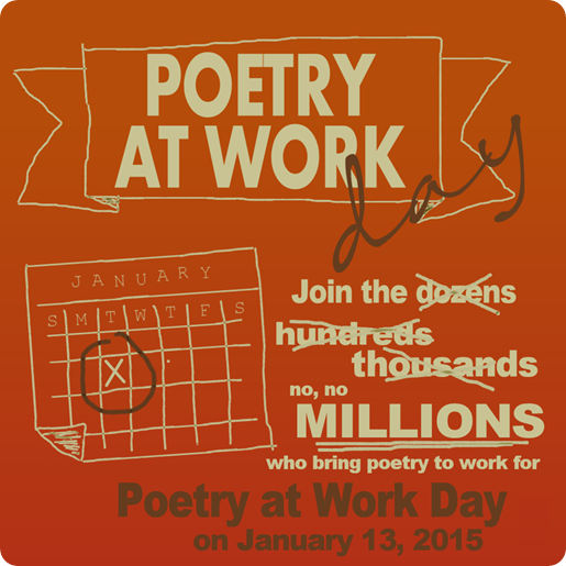 Poetry at work day