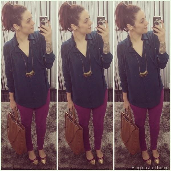 Look calça rosa e camisa verde (2)
