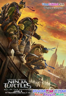 Ninja Rùa 2: Đập Tan Bóng Tối - Teenage Mutant Ninja Turtles: Out Of The Shadows Tập HD 1080p Full