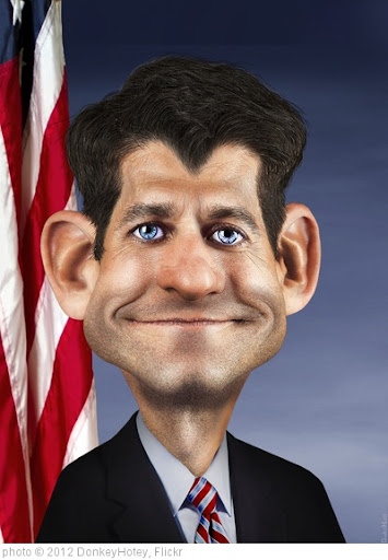 'Paul Ryan Caricature' photo (c) 2012, DonkeyHotey - license: http://creativecommons.org/licenses/by/2.0/