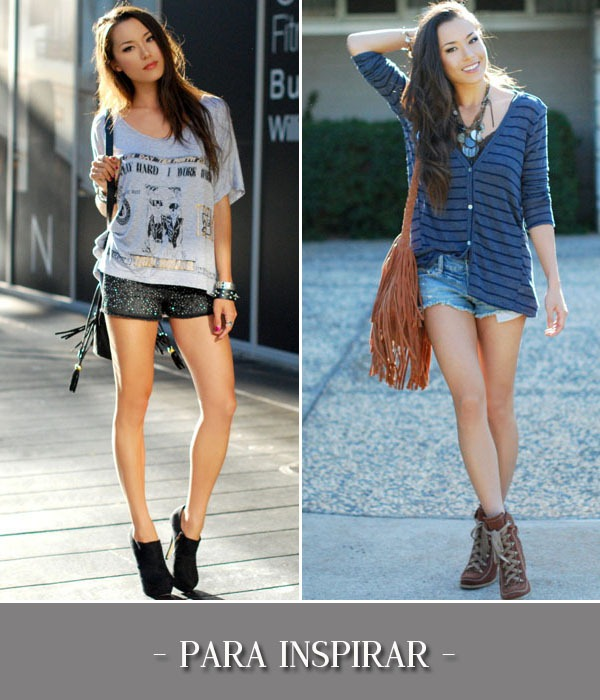 Looks-Inspiraes-Short-Paets-Jeans-Cardig