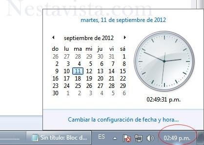 actualizar la fecha del ordenador