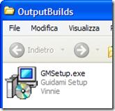 Mpq Builder screensaver creato come file eseguibile