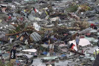 Filipinas Tifón Yolanda