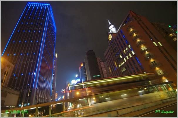 香港岛夜景