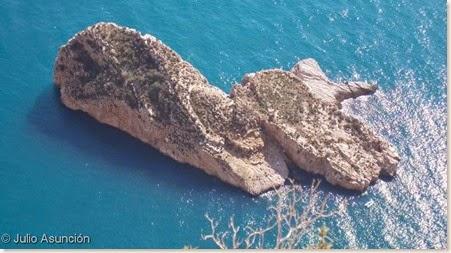 Isla Mitjana desde la Sierra Helada - Benidorm