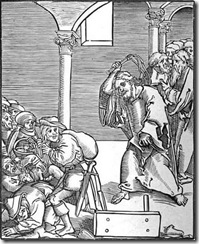 Poll Cranach Christ Drives the Usurers out of the Temple 1517