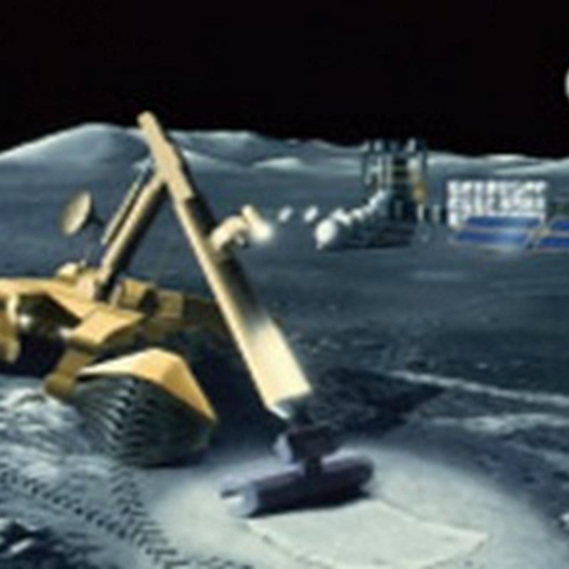 """El ambicioso proyecto """"Luna Ring"""" el recolector solar en la Luna que sería construido utilizando robots."""