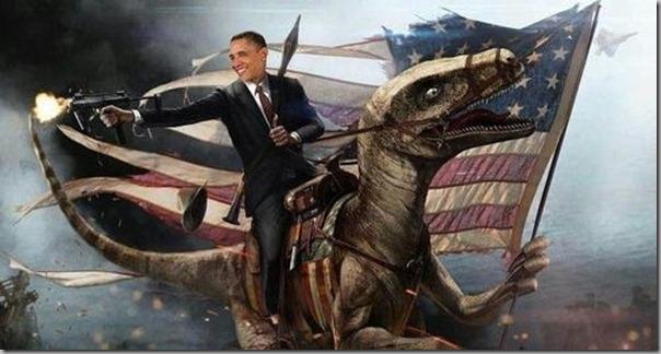 Obama dinosaur