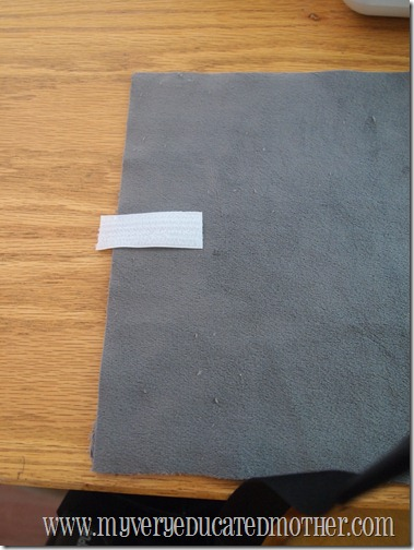 Kindle cover, Velcro, sewing