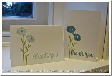 Painted Petals Thank You Notecards, Amanda Bates, The Craft Spa, 2015_01 (5)