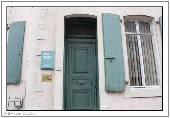 Windows and Doorways of Boulogne France 9