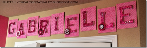 NAME LETTERS (11)