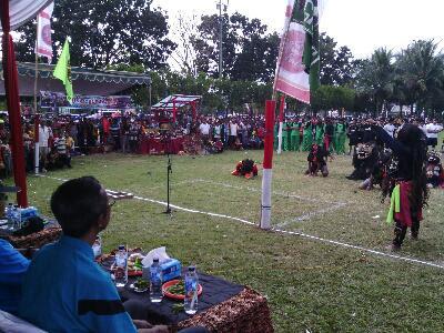 Olah Raga Tradisional Kasti Dalam Event Bulan Berkunjung ke Jember