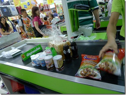 Grocerry shopping @ Big C