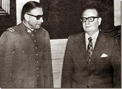 Pinochet e Alende