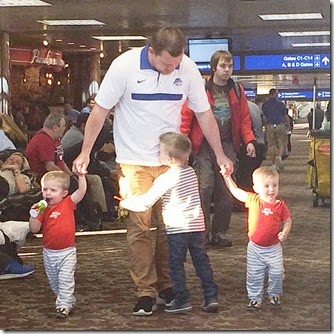 Airport with kids